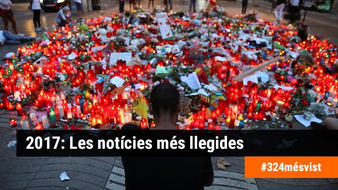 Els atemptats de Barcelona i Cambrils i el procés: les notícies més llegides del 2017