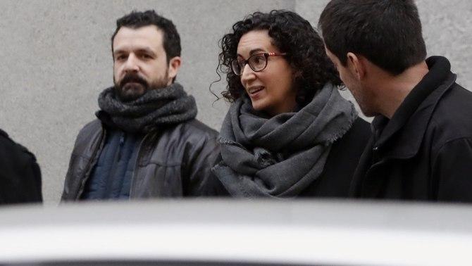 Llibertat provisional sota fiança de 60.000 euros per a Marta Rovira