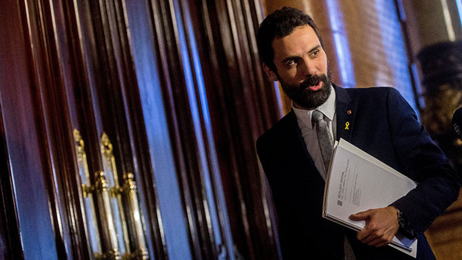 """Carta de Torrent al Suprem: """"Acordeu el necessari perquè Sànchez sigui a la investidura"""""""