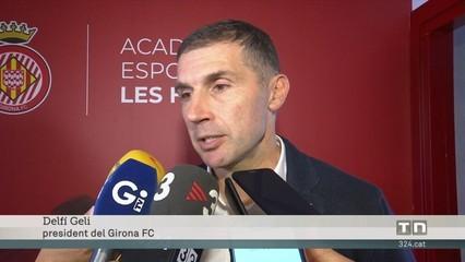 """Delfí Geli, president Girona FC: """"La residència formativa per als jugadors serà allotjament per a esportistes... i persones"""""""