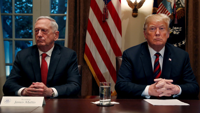James Mattis i Donald Trump (Reuters)