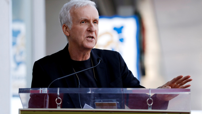 James Cameron fent un discurs a Hollywood, Los Angeles, Califòrnia (Reuters)