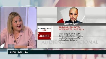 "Mayka Navarro: ""Al judici es confirma que Es-Satty va morir a Alcanar"""