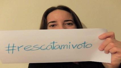 """Campanya """"Rescata el meu vot"""" a les xarxes"""