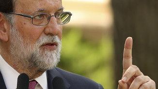 """Rajoy: """"No deixaré que els extremistes radicals de la CUP marquin el rumb a Catalunya"""""""