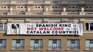 PP i Ciutadans critiquen la pancarta contra el rei en l'homenatge a les víctimes del 17A
