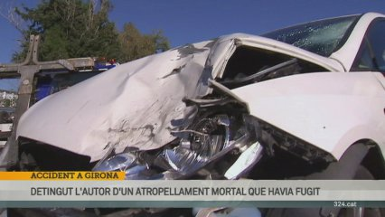 Accident a Girona