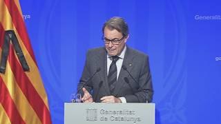 Declaracions d'Artur Mas