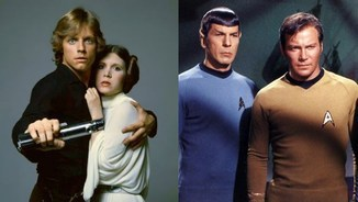 """Star Wars"" vs ""Star Trek"". Tu de qui ets?"