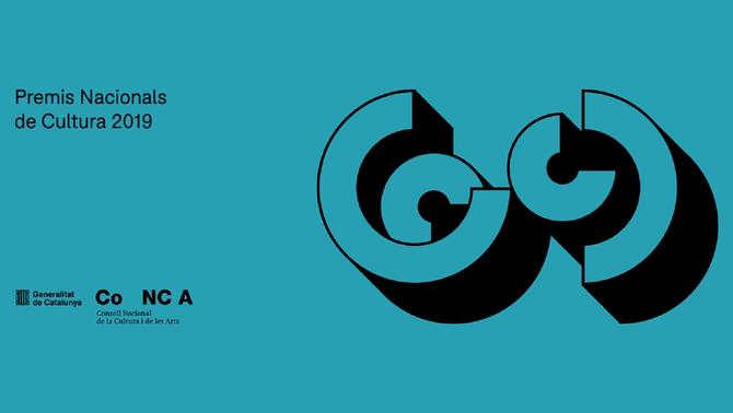 Premis Nacionals de Cultura 2019.