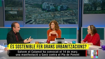 Polèmic macroprojecte urbanístic entre Gavà i Castelldefels