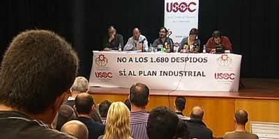 """Els treballadors de Nissan exigeixen al govern """"compromís"""" amb el futur de l'empresa"""