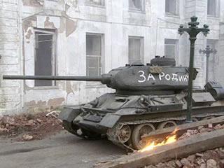 Els tancs soviètics entren a Berlín.