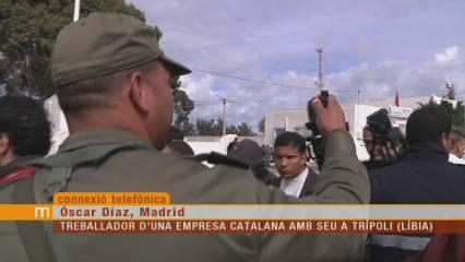 "Òscar Díaz, català que treballa a Líbia: ""L'única alternativa a Gaddafi és l'islamisme"""
