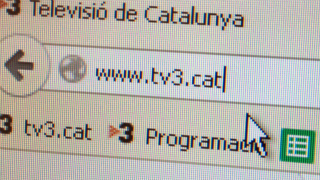 TV3.cat ha tingut m�s de 823.000 visitants �nics al mar�.
