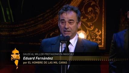 Millor protagonista masculí: Eduard Fernández