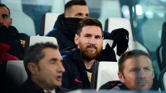 """Torquemada: """"Veient la cara de Messi a la banqueta, no ens hauria de preocupar la seva suplència"""""""