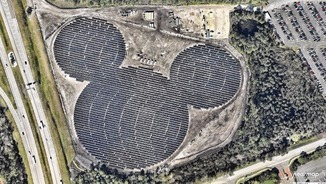 Mickey Mouse solar