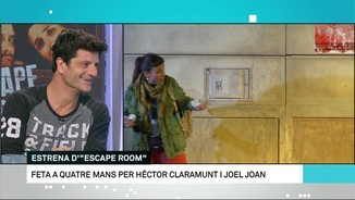"Joel Joan i ""Escape Room"" al Teatre Goya"