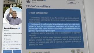 Atacs contra veneçolans a l'Equador