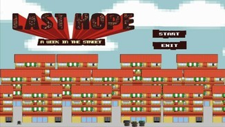 """Les TIC per educar"": ""Last hope, a week in the street"""