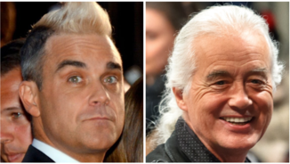Robbie Williams i Jimmy Page