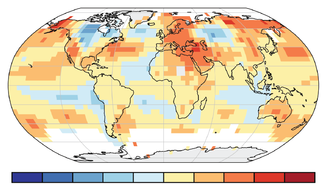 Anomalia de temperatura global (NOAA)
