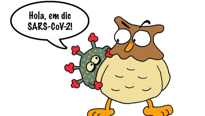 """""""Mussol i el coronavirus"""", un conte per explicar a petits i grans la Covid-19"""